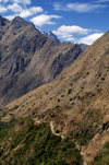 Llullchapampa, Cuzco region, Peru: the Inca Trail to Machu Picchu, above 11,000 feet- photo by C.Lovell