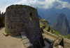 Machu Picchu, Cuzco region, Peru: temple of the Sun - Historic Sanctuary of Machu Picchu - UNESCO World Heritage - photo by C.Lovell