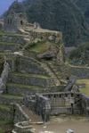 Machu Picchu, Cuzco region, Peru: main religious center of the Inca ruins of Machu Picchu, Principal Temple at the bottom - photo by C.Lovell