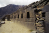 Ollantaytambo, Cuzco region, Peru: Terrace of the 10 Niches, a fine example of Inca stonework - Sacred Valley- Peruvian Andes - photo by C.Lovell