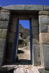 Ollantaytambo, Cuzco region, Peru: Inca doorway - Sacred Valley- Peruvian Andes - photo by C.Lovell