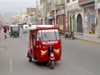 Ica, Peru: local tuk-tuk style taxi - trishaw - photo by M.Bergsma