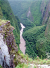 Machu Pichu, Cusco region, Peru: canyon of the Urubamba river - photo by M.Bergsma