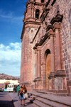 Cuzco, Peru: Cathedral of Santo Domingo, side entrance - Unesco world heritage site - photo by J.Fekete