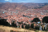 Cuzco, Peru: the city and the surrounding hills - photo by J.Fekete