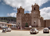 Puno, Peru: the Cathedral - Plaza de Armas - photo by M.Bergsma