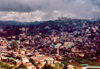 Philippines - Baguio / BAG : rain and sun after the typhoon - urban sprawl from above - photo by M.Torres