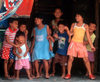 Manila city, Philippines - happy gang of Filipino children - Slums and shanty towns - photo by B.Henry