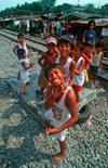 Manila city, Philippines - boys with an attitude - Slums and shanty towns - photo by B.Henry
