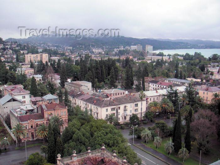 abkhazia11: Abkhazia - Sukhumi: the city and the Black Sea (photo by A.Kilroy) - (c) Travel-Images.com - Stock Photography agency - Image Bank