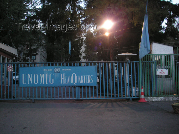 abkhazia18: Abkhazia - Sukhumi: UNOMIG head-quarters - UN HQ (photo by A.Kilroy) - (c) Travel-Images.com - Stock Photography agency - Image Bank