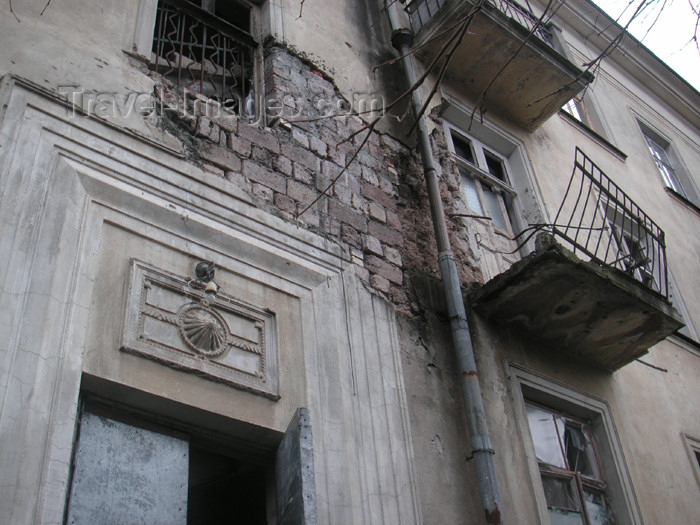 abkhazia8: Abkhazia - Sukhumi: scared façade (photo by A.Kilroy) - (c) Travel-Images.com - Stock Photography agency - Image Bank