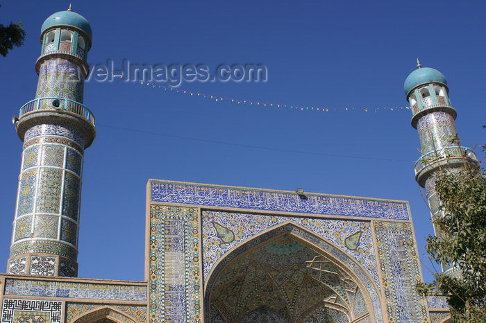 afghanistan10: Afghanistan - Herat - minarets of The Friday Mosque - photo by E.Andersen - (c) Travel-Images.com - Stock Photography agency - Image Bank