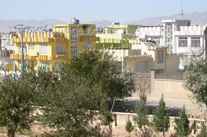 afghanistan11: Afghanistan - Herat - modern houses - photo by E.Andersen - (c) Travel-Images.com - Stock Photography agency - Image Bank