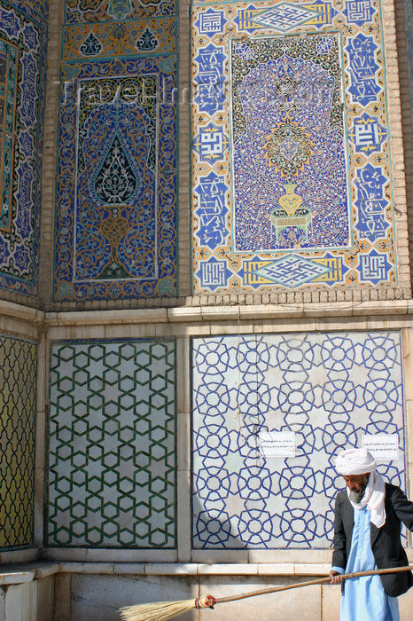 afghanistan16: Afghanistan - Herat - Friday Mosque - tiles - photo by E.Andersen - (c) Travel-Images.com - Stock Photography agency - Image Bank