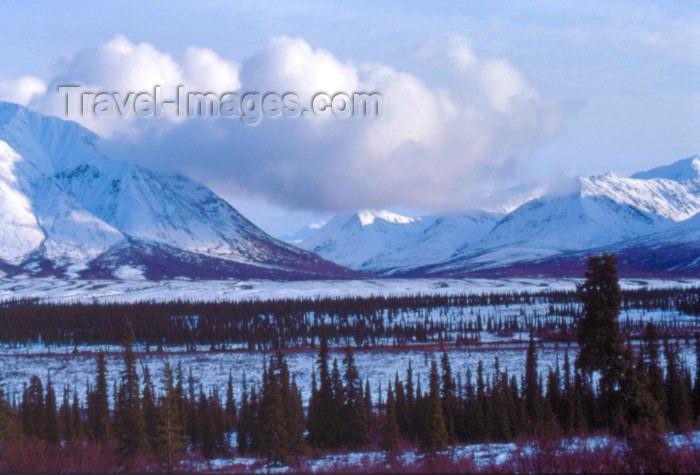 alaska1: Alaska - Seward / SWD: mountain view - photo by F.Rigaud - (c) Travel-Images.com - Stock Photography agency - Image Bank