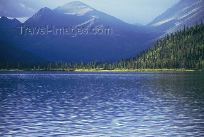 alaska154: Brooks range, Alaska: sunset on Walker lake - photo by E.Petitalot - (c) Travel-Images.com - Stock Photography agency - Image Bank