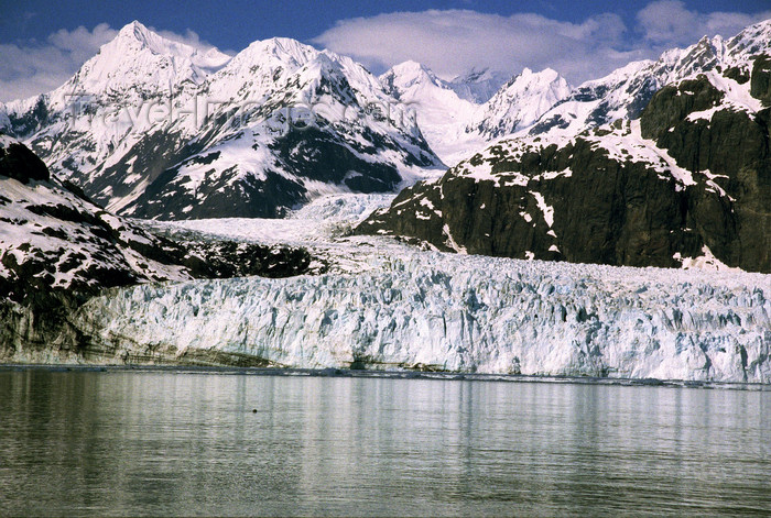 alaska167: Alaska - Glacier bay - Margerie glacier - photo by E.Petitalot - (c) Travel-Images.com - Stock Photography agency - Image Bank