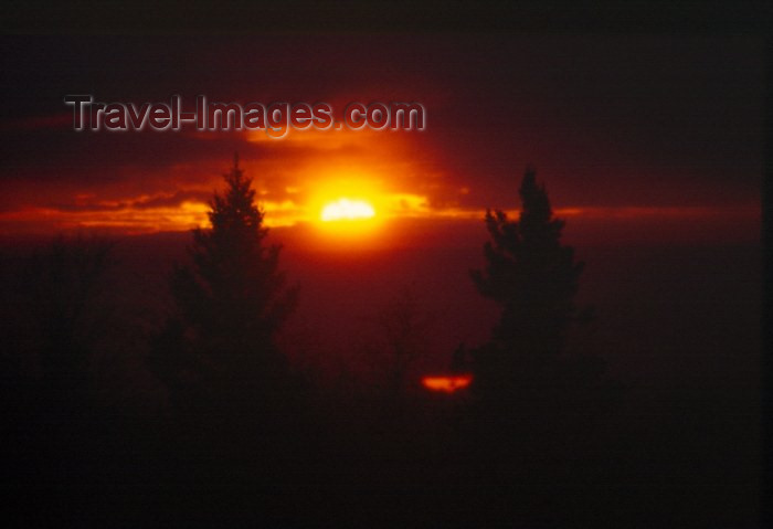 alaska34: Alaska - Anchorage: sunset - photo by F.Rigaud - (c) Travel-Images.com - Stock Photography agency - Image Bank