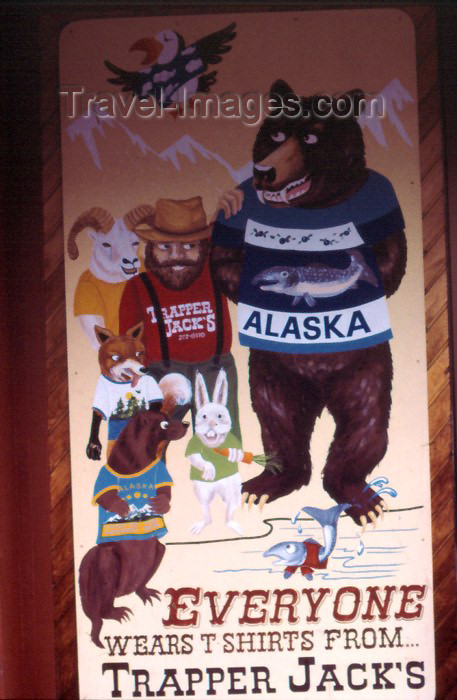 alaska50: Alaska - Anchorage: at Trapper Jack's - photo by F.Rigaud - (c) Travel-Images.com - Stock Photography agency - Image Bank