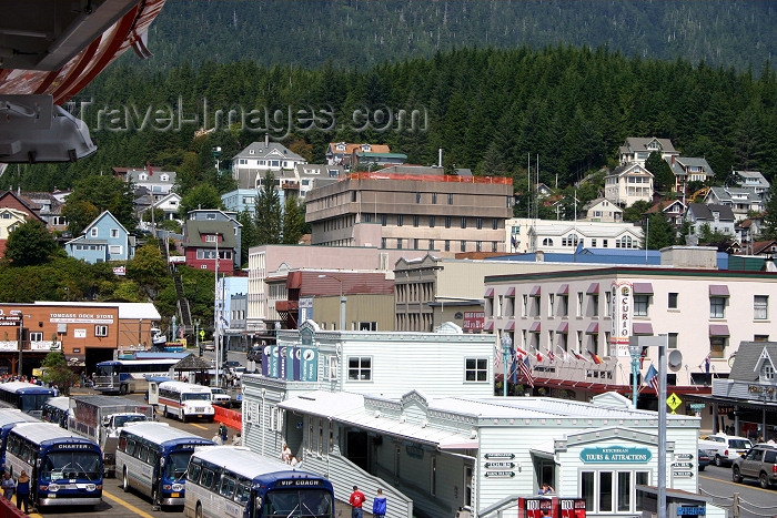 alaska88: Alaska - Ketchikan: the docks area (photo by Robert Ziff) - (c) Travel-Images.com - Stock Photography agency - Image Bank