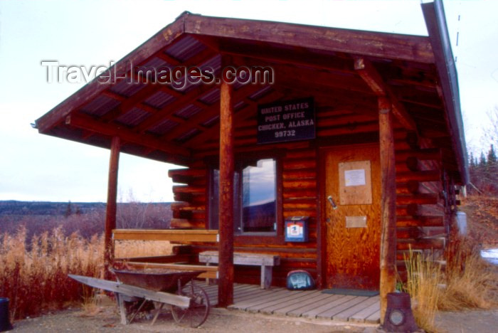 alaska9: Alaska - Chicken: the 'central' post office - photo by F.Rigaud - (c) Travel-Images.com - Stock Photography agency - Image Bank