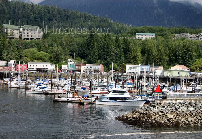 alaska91: Alaska - Ketchikan: amphibious vehicle - Alaska Amphibious tours - Ketchikan Duck  (photo by Robert Ziff) - (c) Travel-Images.com - Stock Photography agency - Image Bank