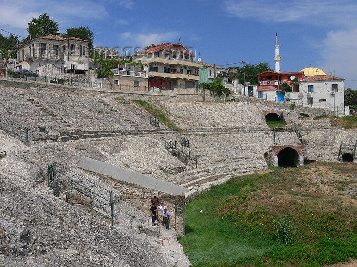 albania101: Durres / Drach, Albania: Roman theatre - photo by J.Kaman - (c) Travel-Images.com - Stock Photography agency - Image Bank