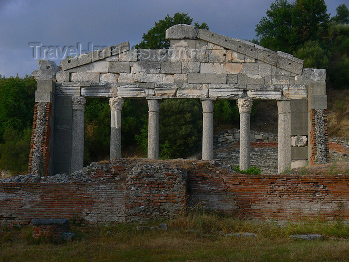 albania104: Apollonia, Fier County, Albania: monument of the Agonothetes - Archaeological site of Apolonia - photo by J.Kaman - (c) Travel-Images.com - Stock Photography agency - Image Bank