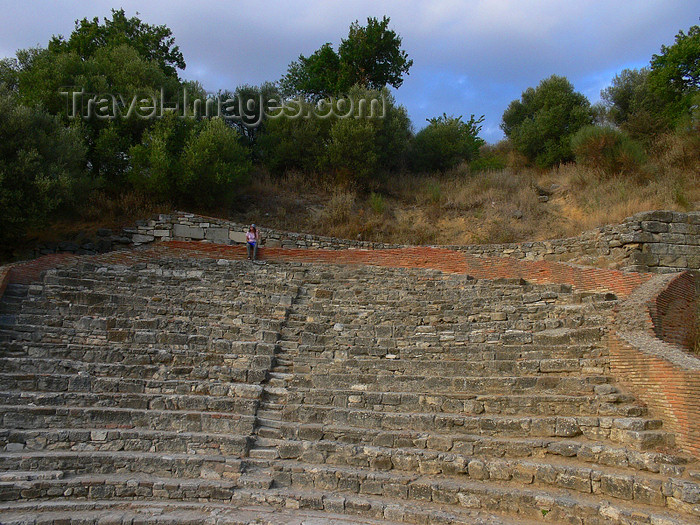 albania105: Apollonia, Fier County, Albania: Odeon theatre - photo by J.Kaman - (c) Travel-Images.com - Stock Photography agency - Image Bank