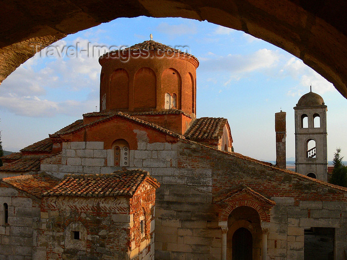albania112: Apollonia, Fier County, Albania: Orthodox church - photo by J.Kaman - (c) Travel-Images.com - Stock Photography agency - Image Bank