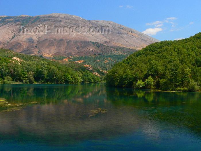 albania143: Vlorë county, Albania: Syri i Kalter / Blue Eye Spring - photo by J.Kaman - (c) Travel-Images.com - Stock Photography agency - Image Bank