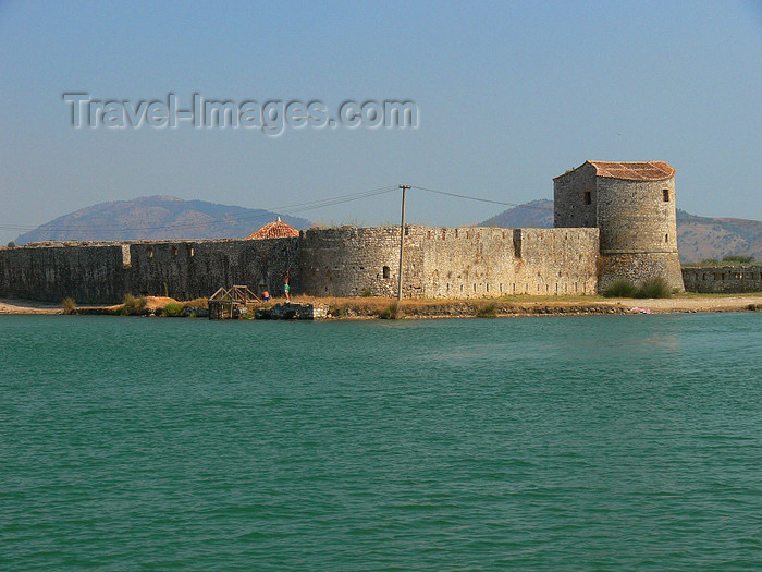 albania150: Butrint, Sarandë, Vlorë County, Albania: castle and Butrint Lake - photo by J.Kaman - (c) Travel-Images.com - Stock Photography agency - Image Bank