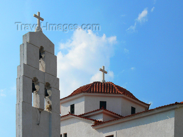 albania155: Sarandë, Vlorë County, Albania: Orthodox church - photo by J.Kaman - (c) Travel-Images.com - Stock Photography agency - Image Bank