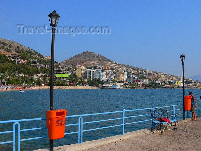 albania156: Sarandë / Saranda, Vlorë County, Albania: view of the waterfront - photo by J.Kaman - (c) Travel-Images.com - Stock Photography agency - Image Bank