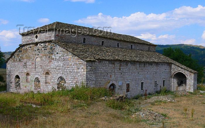 albania170: Moscopole / Voskopojë / Voskopoja, Korçë county, Albania: Vlach / Aromanians Church of Saint Althanase - photo by J.Kaman - (c) Travel-Images.com - Stock Photography agency - Image Bank