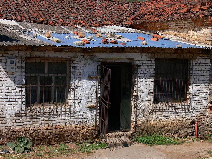 albania180: Lin, Pogradec, Korçë County, Albania: old house - photo by J.Kaman - (c) Travel-Images.com - Stock Photography agency - Image Bank