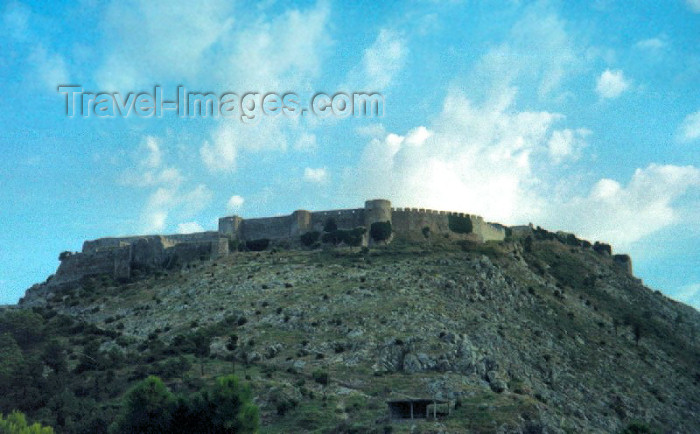 albania3: Albania / Shqiperia - Shkoder: a castle but no janizaries - over the Buna and Drin rivers - the Ilyrian and later Venetian fortress of Rozafa / Rozafat - photo by M.Torres - (c) Travel-Images.com - Stock Photography agency - Image Bank