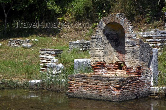 albania40: Butrint, Sarandë, Vlorë County, Albania: niche - Butrint archeological site - photo by A.Dnieprowsky - (c) Travel-Images.com - Stock Photography agency - Image Bank