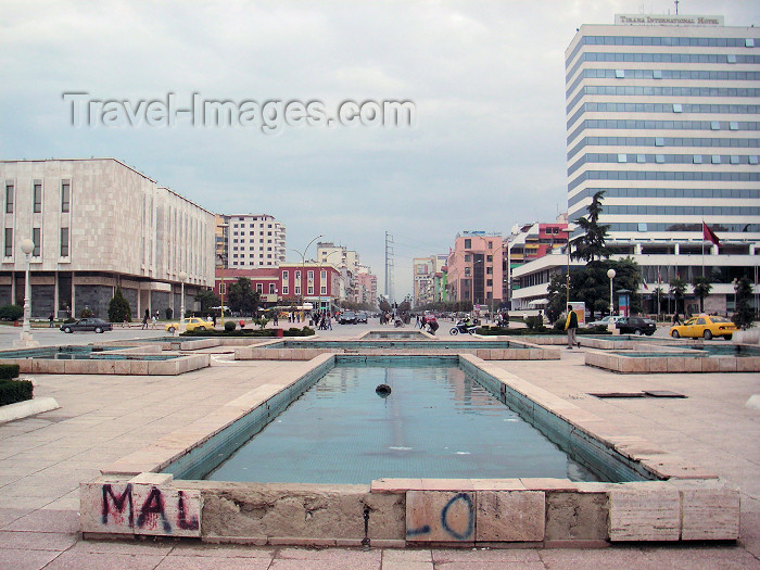 albania62: Tirana, Albania: Tirana International Hotel - photo by A.Kilroy - (c) Travel-Images.com - Stock Photography agency - Image Bank