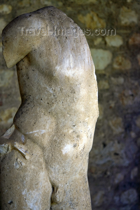 albania65: Butrint, Sarandë, Vlorë County, Albania: classical torso - photo by A.Dnieprowsky - (c) Travel-Images.com - Stock Photography agency - Image Bank