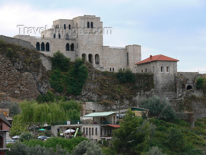 albania71: Kruje, Durres County, Albania: Castle and Skanderbeg museum - photo by J.Kaman - (c) Travel-Images.com - Stock Photography agency - Image Bank