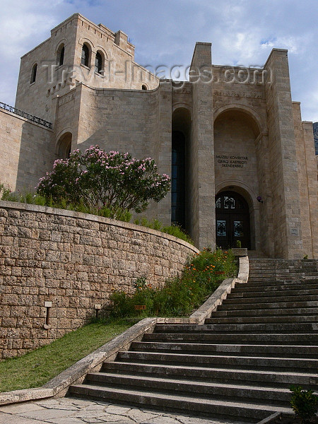 albania72: Kruje, Durres County, Albania: Skanderbeg museum - photo by J.Kaman - (c) Travel-Images.com - Stock Photography agency - Image Bank