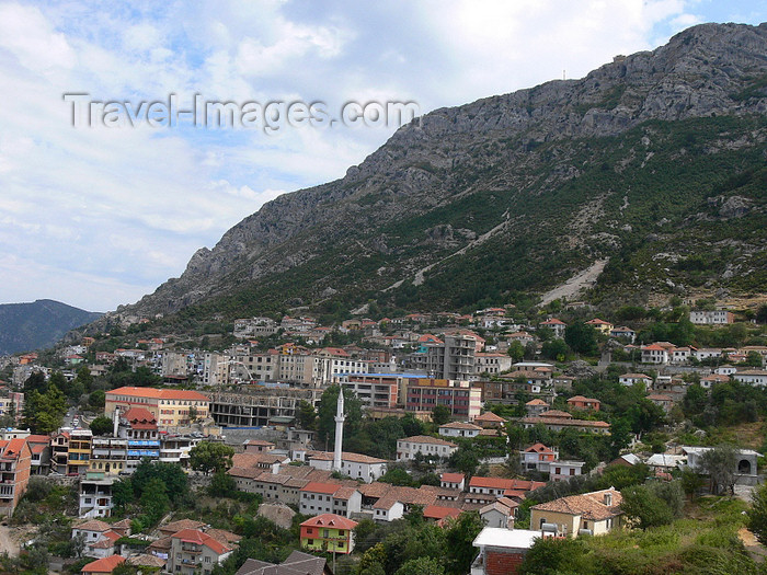 albania81: Kruje, Durres County, Albania: under the mountain - photo by J.Kaman - (c) Travel-Images.com - Stock Photography agency - Image Bank
