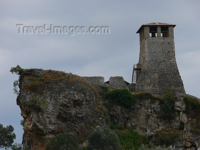 albania93: Kruje, Durres County, Albania: tower - photo by J.Kaman - (c) Travel-Images.com - Stock Photography agency - Image Bank