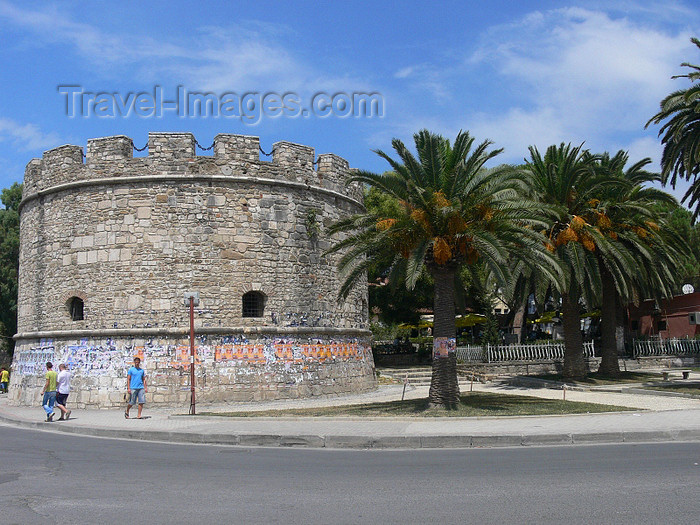 albania96: Durres / Drach, Albania: old tower - photo by J.Kaman - (c) Travel-Images.com - Stock Photography agency - Image Bank