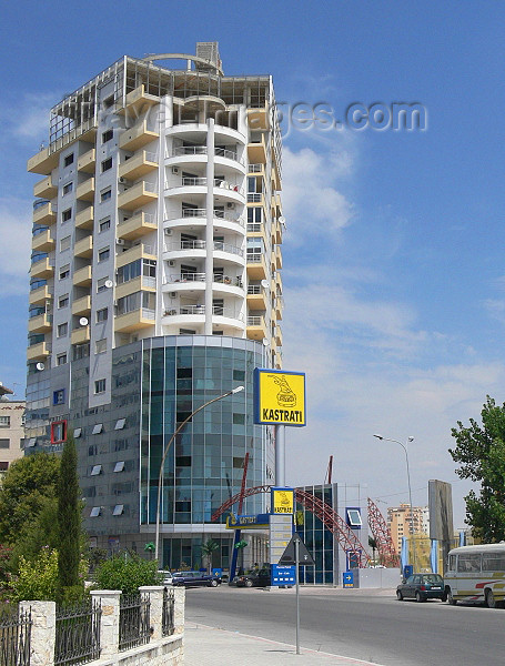 albania97: Durres / Drach, Albania: modern housing - photo by J.Kaman - (c) Travel-Images.com - Stock Photography agency - Image Bank