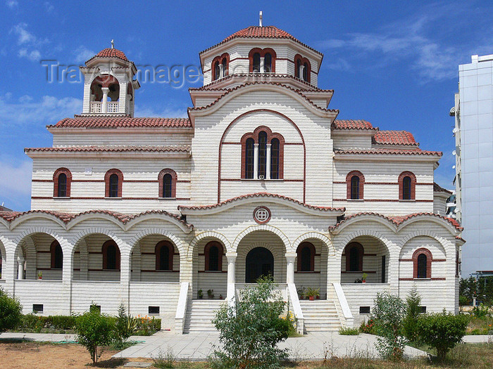 albania98: Durres / Drach, Albania: Orthodox church - photo by J.Kaman - (c) Travel-Images.com - Stock Photography agency - Image Bank
