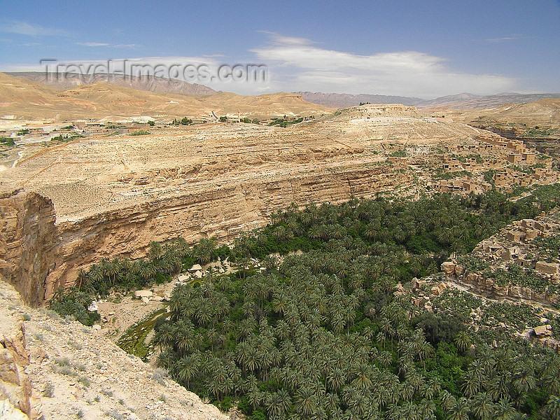 algeria136: Algeria / Algerie - Gorges de Tighanimine - El Abiod - Batna wilaya -  Massif des Aurès: oasis - photo by J.Kaman - (c) Travel-Images.com - Stock Photography agency - Image Bank