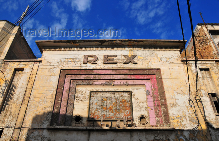 algeria161: Oran, Algeria / Algérie: Rex movie theater - Tlemcen street - photo by M.Torres | salle de cinéma Rex - Rue de Tlemcen - (c) Travel-Images.com - Stock Photography agency - Image Bank